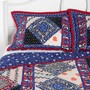 Mociun Patchwork Sham - Set Of 2