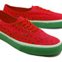 AUTHENTIC LACE-UP (WATERMELON PRINT)