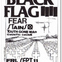 Raymond Pettibon Note Card Set: Black Flag