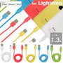Color Lightning Cable カラー ライトニング ケーブル 1.3m【iPhone5s/iPhone5c/iPhone5/iPad Air/iPad mini Retina】