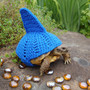 Shark fin tortoise cozy - made to order in any color