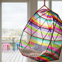 Rainbow hanging chair