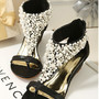 Image of  [grzxy61900003]Elegant Fashion Beaded Rhinestone Thong Sandal