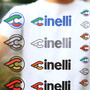 *CINELLI* logo sticker kit