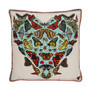 BUTTERFLIES AND BEASTICLES SILK CUSHION