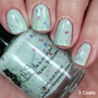 Spring Training Pastel Green Scented Nail Polish