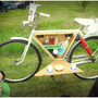 Bicycle Bar Cart: