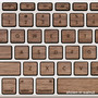 Lazerwood Keys for MacBook Pro
