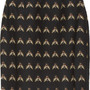 Ursula insect-print cotton-blend skirt