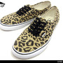 VANS AUTHENTIC (Van Doren) Leopard/Black