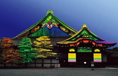 Projection mapping 二条城
