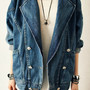 Loose Long Sleeve Denim Jacket ♥♥♥
