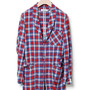 FARMER GOWN - COTTON INDIGO CHECK