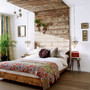 Earthy bed room = Quality sleeping<3