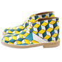 Desert Boots Yellow/Blue