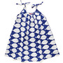 Kids berri dress / white fish