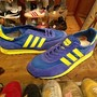 "「<deadstock>'92 adidas TRX blue/yellow""made in SLOVENIA"" size:27cm 14800yen」完売"
