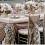 Pale Pink Ruffled Wedding Table Design ♥ Dream Wedding Decorations