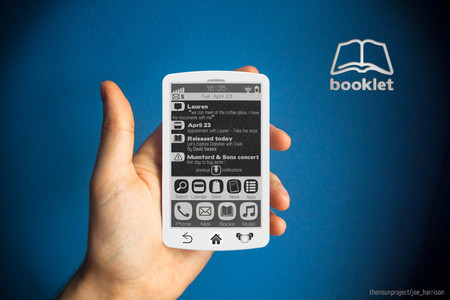 Booklet - E-Ink smartphone for readers