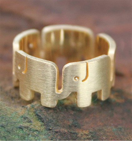 Elephant Pride ring