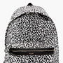 WHITE & BLACK LEOPARD Print  BACKPACK