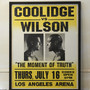 COOLIDGE vs WILSON Poster