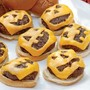 Halloween cheeseburgers!