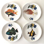 Fancy Fish tea plates