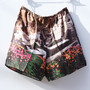 Mountains Printed Habotai Short