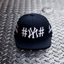 "Navy ""#NY#"" Snapback KITH Exclusive"