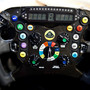 Lotus' joke steering wheel