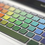 Rainbow MacBook Keyboard