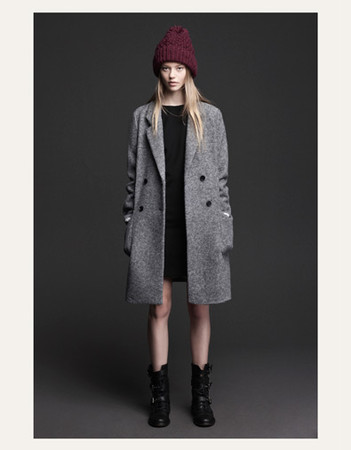 ZARA-WOOLLEN CLOTH COAT