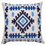 Cabo Pillow I in White & Blue