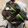 *BIKE PACK(M)* CAMOUFLAGE CUSTOM /CAMO X NEON YELLOW