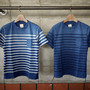 Indigo Border Pocket T-Shirts