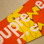 x Pikachu Box Logo Sticker