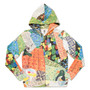 Leo Lionni Long Sleeve Zip Parka(Leo Lionni Alexander and the Wind up Mouse Pattern)