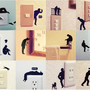Removable Wall Stickers Ojisan