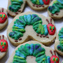 caterpillar cookies