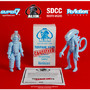 "ALIEN REACTION FIGURE 2 PACK ""DISCOVERED SALES SAMPLES"" BIG CHAP & KANE"