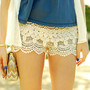 Lace Tier Hot Pants 