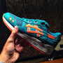Ronnie Fieg x ASICS GEL-Lyte III Teal Orange Miami Dolphins (1)