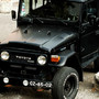 Land Cruiser FJ40 Black
