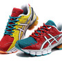 Men's Asics Gel Kinsei 4 T139N Blue Red Running Shoes