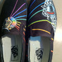 Painted Shoes- Daft Punk Style