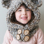 Knitting PATTERN - Chunky Bear Hood