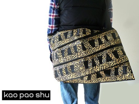MICKEY BAG M leopard print