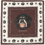 Givenchy Rottweiler Scarf in Brown Ivory in Brown (brown &amp; ivory) - Lyst