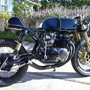 CB 550 cafe racer